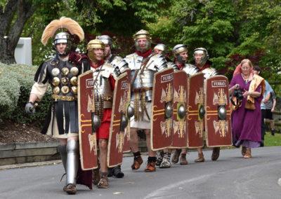 Armistice in Cambridge NZ: 2018 Roman Parade