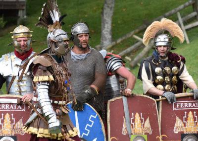 Armistice in Cambridge NZ: 2018 Medieval Roman Re-enactors