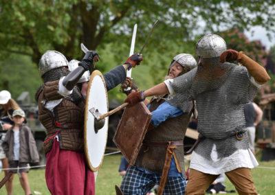 Armistice in Cambridge NZ: 2018 Medieval Battle Combat
