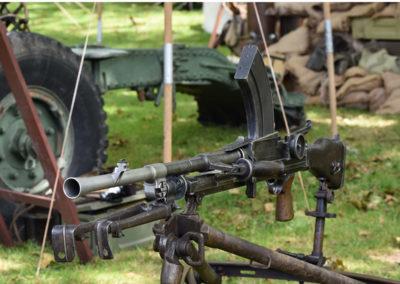Armistice in Cambridge NZ: 2018 Bren Gun Display