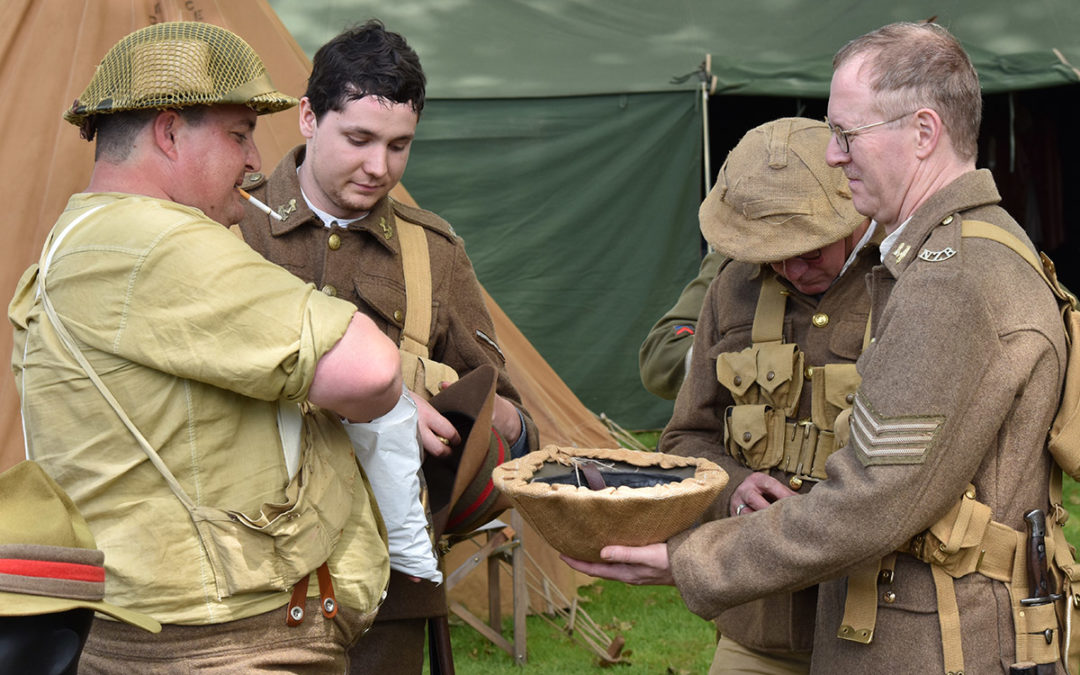 Armistice in Cambridge NZ: 2018 Military Re-enactor Participants