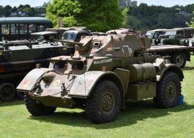 Armistice in Cambridge NZ: 2018 Tank on display 1