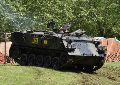 Armistice in Cambridge NZ: 2018 Tank in motion