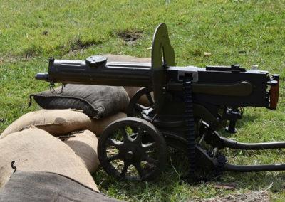 Armistice in Cambridge NZ: 2018 Machine Gun
