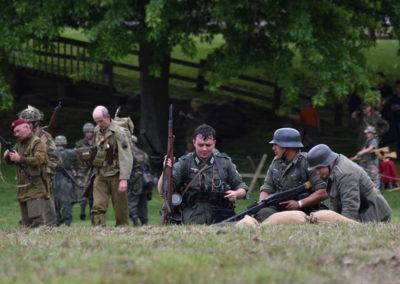 Armistice in Cambridge NZ: 2018 Military Battle Preparation