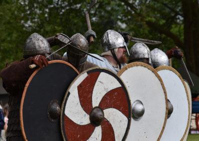 Armistice in Cambridge NZ: 2018 Medieval Battle Preparation