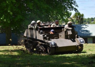 Armistice in Cambridge NZ: 2018 Bren Carrier Rides
