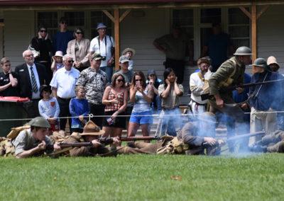 Armistice in Cambridge NZ: 2018 Military Battle Re-enactment 2