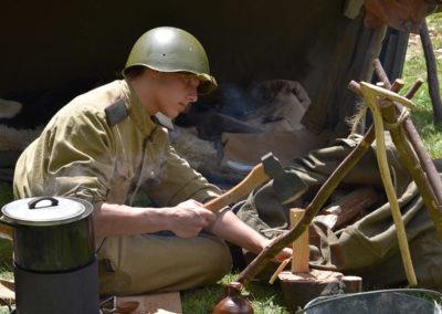 Armistice in Cambridge NZ: 2018 Military Camp Fire