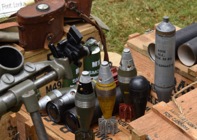 Armistice in Cambridge NZ: 2018 Mortar Shell Display