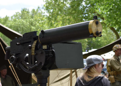 Armistice in Cambridge NZ: 2018 Vickers Machine Gun