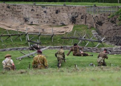 Armistice in Cambridge NZ: 2018 Military Battle Re-enactment