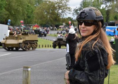 Armistice in Cambridge NZ: 2018 Airsoft Player