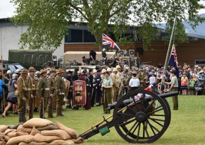 Armistice in Cambridge NZ: 2018 Armistice Ceremony
