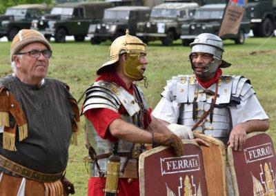 Armistice in Cambridge NZ: 2018 Roman Re-enactors