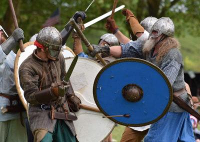 Armistice in Cambridge NZ: 2018 Medieval Battle Display