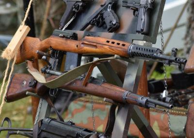 Armistice in Cambridge NZ: 2018 Display Antique Rifles