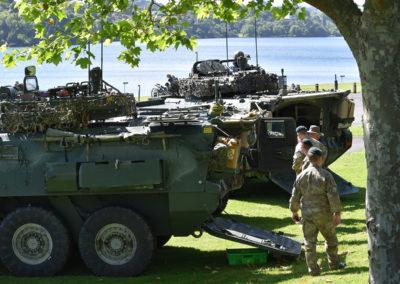 Armistice in Cambridge NZ: 2018 Tanks