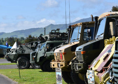 Armistice in Cambridge NZ: 2018 Military Vehicle Display