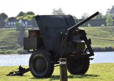 Armistice in Cambridge NZ: 2018 Military Cannon