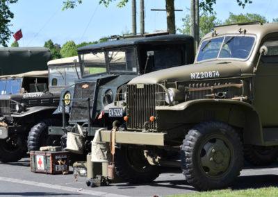 Armistice in Cambridge NZ: 2018 Military Vehicles