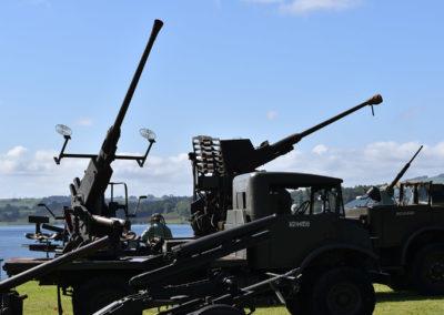 Armistice in Cambridge NZ: 2018 Anti-aircraft Guns