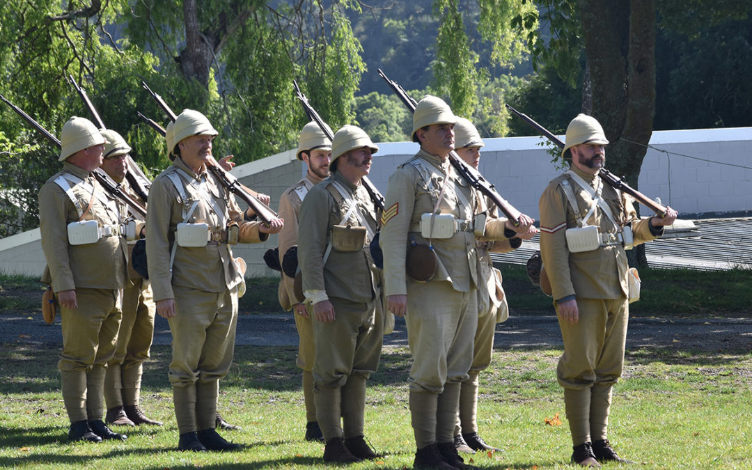 Armistice in Cambridge NZ: 2018 Military Parade