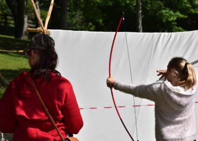 Armistice in Cambridge NZ: 2018 Kids Archery