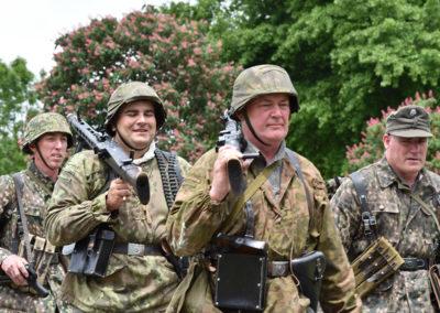 Armistice in Cambridge NZ: 2018 Re-enactors