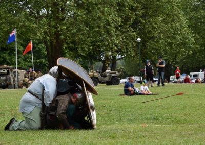 Armistice in Cambridge NZ: 2018 Medieval Battle