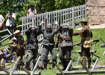 Armistice in Cambridge NZ: 2018 Defeat