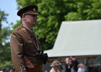 Armistice in Cambridge NZ: 2018 Battle Officer