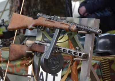 Armistice in Cambridge NZ: 2018 Vintage Rifle Display