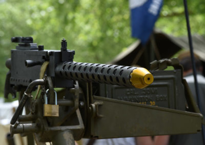 Armistice in Cambridge NZ: 2018 30 Cal Machine Gun