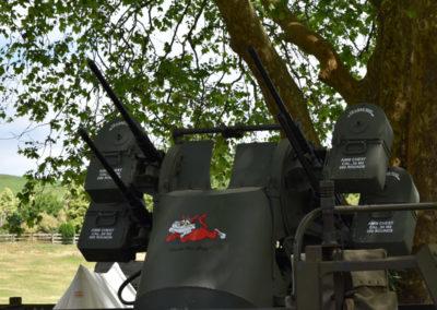 Armistice in Cambridge NZ: 2018 Anti-aircraft Gun Display