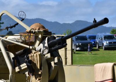 Armistice in Cambridge NZ: 2018 Anti-aircraft Gun Display 1