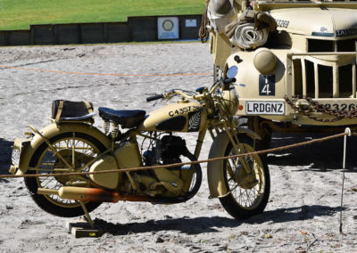 Armistice in Cambridge NZ: 2018 Military Motorbike