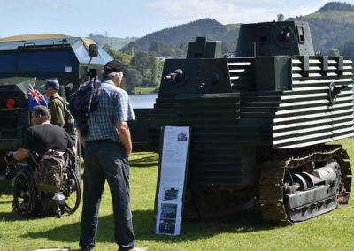 Armistice in Cambridge NZ: 2018 Semple Tractor Tank