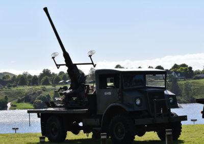 Armistice in Cambridge NZ: 2018 Mounted Anti-aircraft Machine Gun