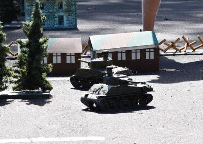 Armistice in Cambridge NZ: 2018 Kids Activites RC Tanks