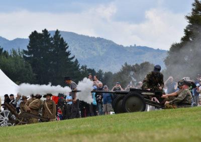 Armistice in Cambridge NZ Big Guns