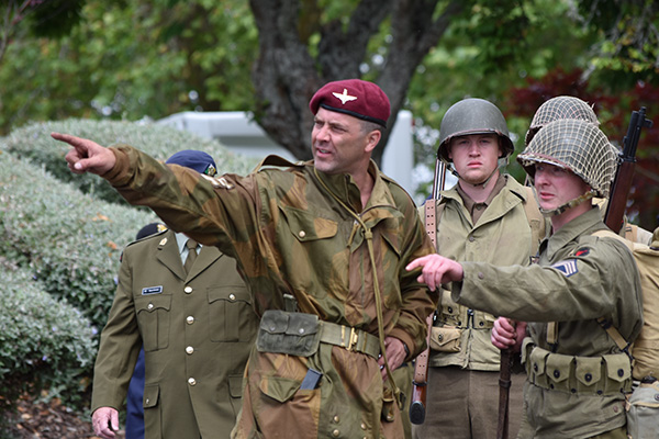 Cambridge in Armistice - Military Re-enactors