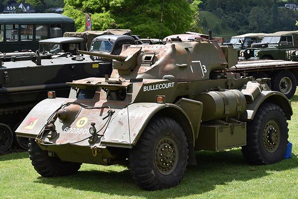 Cambridge in Armistice - Military Vehicles