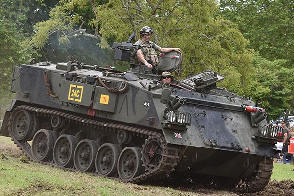 Armistice in Cambridge - Military Vehicles